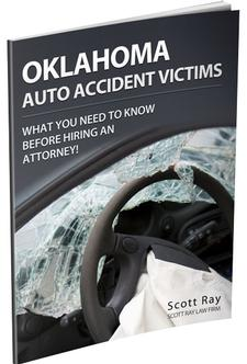Hurt in in an Oklahoma Car Wreck? Protect Yourself with our FREE book!