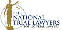 Logo Recognizing Scott Ray's affiliation with National Trial Lawyers