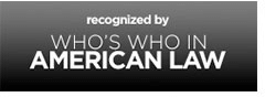 Logo Recognizing Scott Ray's affiliation with Who's Who American Law